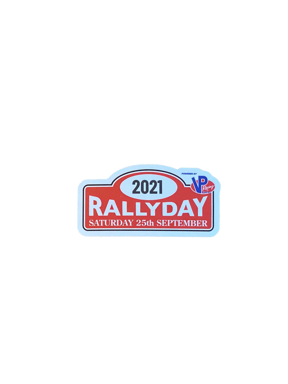 2021 Rallyday Sticker