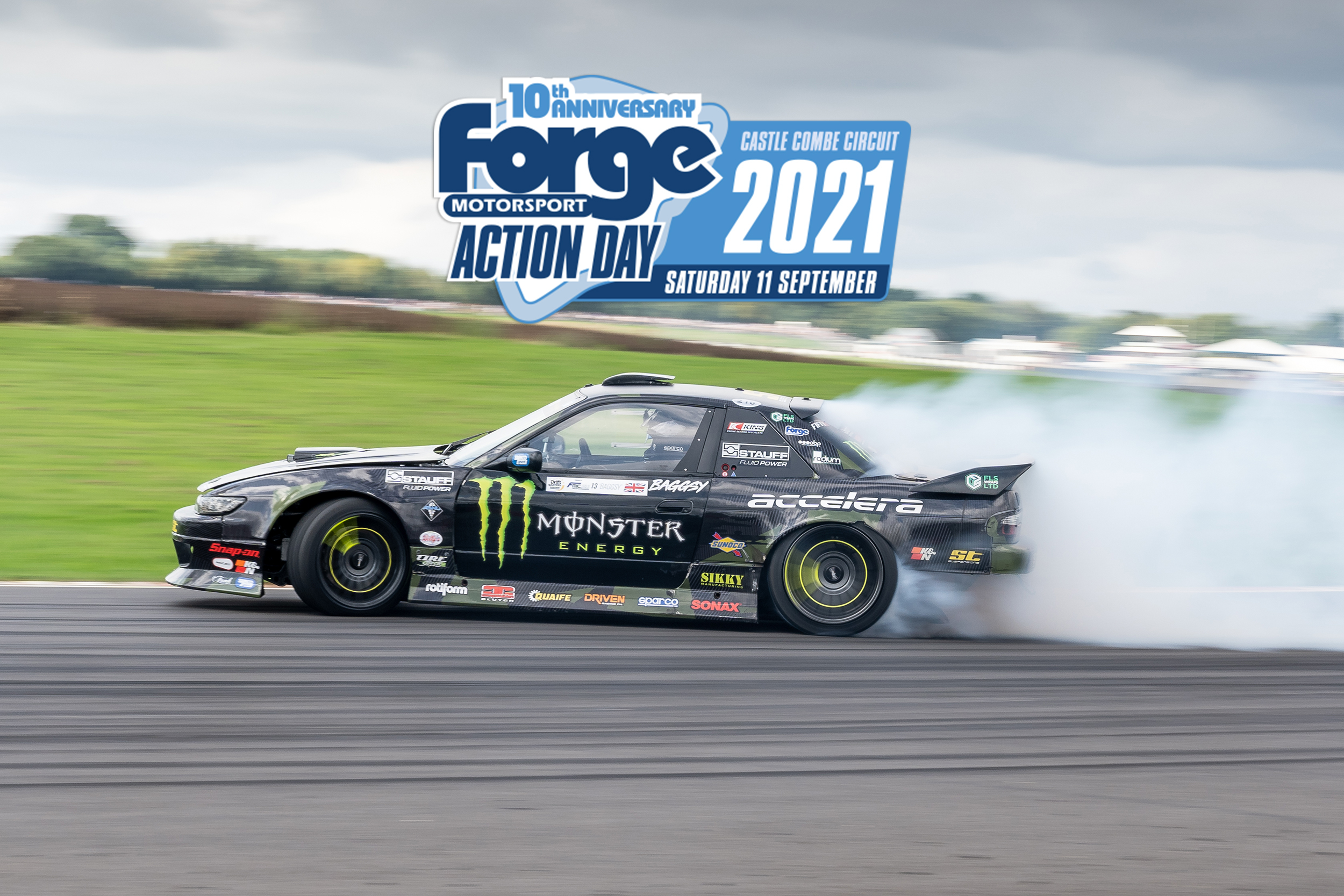 SUN, SIGHTS AND TYRE SMOKE AT FORGE ACTION DAY 2021
