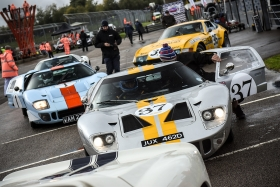 Le Mans Icons and Spectacular Racing Ensure Another Tremendous Autumn Classic Despite Dreary Weather