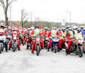 SANTA'S ON A BIKE SATURDAY 1ST DECEMBER