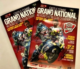 WIN A 2018 SIGNED GRAND NATIONAL MOTORCYCLING PROGRAMME