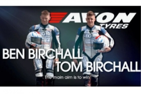 Filming sidecar world champions the Birchall brothers as they go through a full day of testing at Castle Combe race circuit.