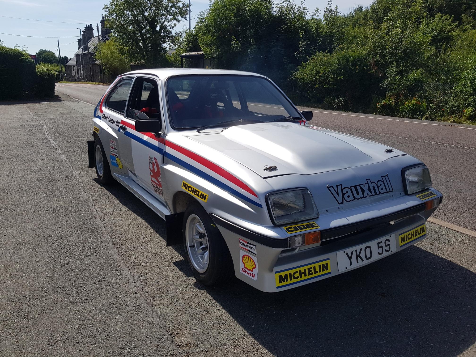 Vauxhall Chevette HSR GP4